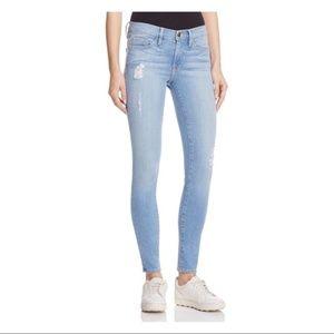 FRAME Le Skinny De Jeanne Jeans In Echo Park NWT